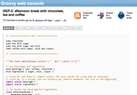 Groovy Web Console